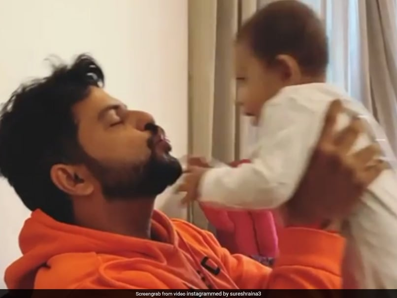 Suresh Raina یک ویدیوی جادویی با دوز صبحگاهی از عشق ارسال می کند.  تماشا کردن