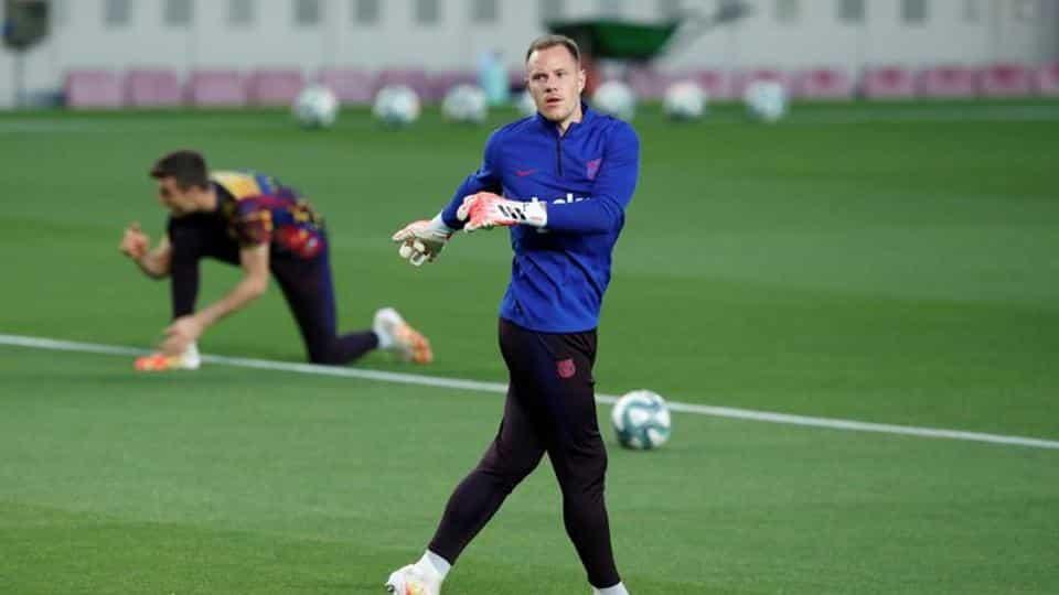 "Ter Stegen پس از جراحی زانو – فوتبال – به ""بارسلونا"" بازگشت"