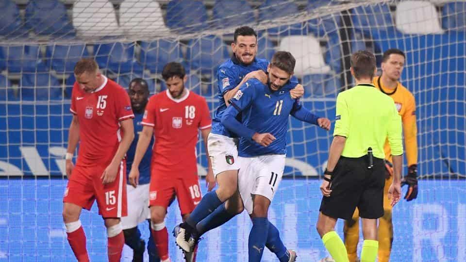 ایتالیا دوباره در تضاد است.  انگلیس از لیگ ملت ها – فوتبال کنار رفت